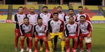 Syrian football team finishes preparations for match with Iranian team