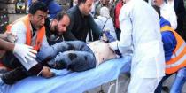 One person killed, three injured in a terrorist mortar attack in Deir Ezzor