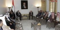 Speaker Sabbagh, Iraqi Ambassador discuss enhancing bilateral relations in all domains