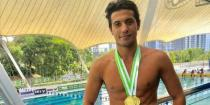 Kalzia wins three gold and one silver medals in Malaysia International Swimming Championship