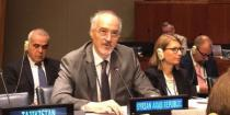 Al-Jaafari: some states spend billions of dollars to buy weapons and transport them to terrorists in Syria