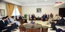 Syria, UN discuss means of joint cooperation in humanitarian field