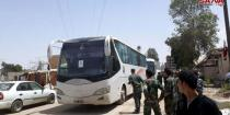 Buses enter Babbela, Yalda and Beit Sahem to start evacuating terrorists