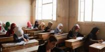 Over 5000 students continue high school final exams in Deir Ezzor
